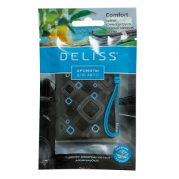 Саше ароматическое для автомобиля Deliss Comfort аромат сочных цитрусов, морской свежести, ванили