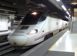 Поезд Euromed (Renfe) из Барселоны в Валенсию (Испания)