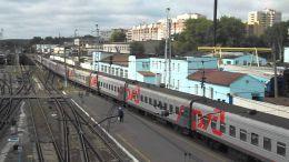 Поезд РЖД №070 Москва-Чита