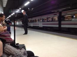 Поезд в аэропорт с вокзала Barcelona Sants (Испания)