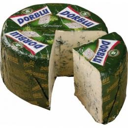 Сыр Kaserei Champignon Дор Блю полутвердый с благородной голубой плесенью