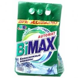 Порошок для стирки белья BIMAX автомат белоснежные вершины