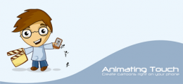 Приложение Animating Touch для Android