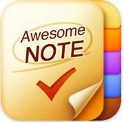 Приложение Awesome Note для iPhone