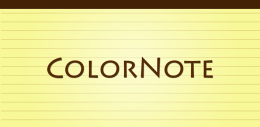 Приложение ColorNote для Android