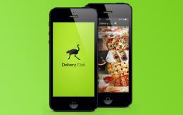 Приложение Delivery Club для Android