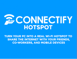 Программа Connectify Hotspot для Windows