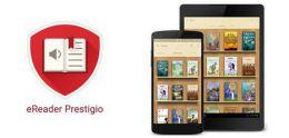 Программа для электронных  книг eReder  Prestigio для Android