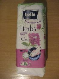 "Прокладки Bella Herbs Verbena ""Лекарственные травы"" Drainette Дышащие"