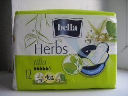 Прокладки гигиенические Bella Herbs Tilia Deo Fresh