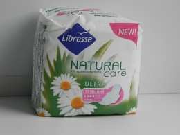 Прокладки Libresse Natural Care Ultra normal, 0% ароматизаторов