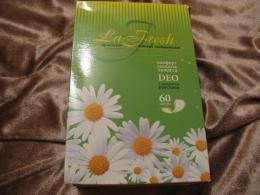Прокладки женские гигиенические La Fresh с ароматом ромашки