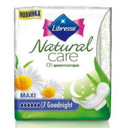 Прокладки Libresse Natural Care Ultra maxi, 0% ароматизаторов
