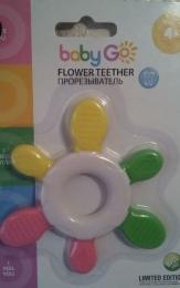 Прорезыватель Baby Go Flower Teether