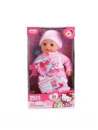 "Кукла интерактивная ""Карапуз"" Hello Kitty"", 30 см, озвученный, мягкое тело"