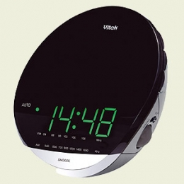 Радиочасы-будильник Vitek VT-3522