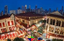 Район Чайна-таун в Сингапуре