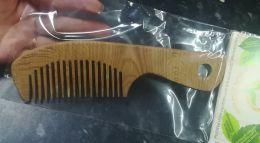 """Расчёска бамбуковая с крупными зубьями """"Леснушки"""" арт.L1111"""
