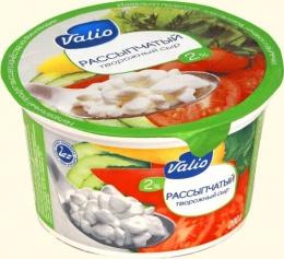 Рассыпчатый творожный сыр Valio, 2%