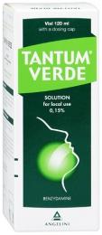 Раствор для местного применения Тантум Верде 0,15%