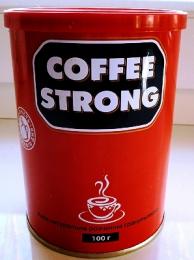 Растворимый кофе Coffee Strong