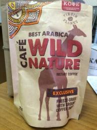 Растворимый кофе Wild Nature Best arabica Exclusive
