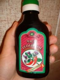 Репейное масло с красным перцем Mirrolla