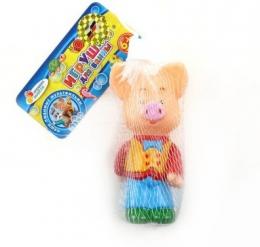 """Резиновая игрушка для ванны """"Хрюша"""" Затейники: Спокойной ночи малыши"""