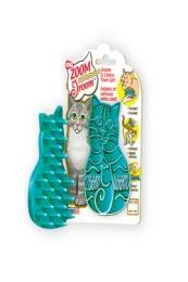 Резиновая щетка Kong для кошек ЗумГрум