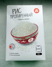 """Рис """"Дикси"""" пропаренный в варочных пакетах"""