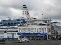 Рижский пассажирский порт (Латвия, Рига)