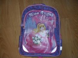 """Рюкзак Пифагор для начальной школы, """"Rose angel"""", сиреневый"""