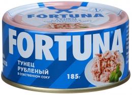 Рыбные консервы Fortuna Тунец рубленый в собственном соку