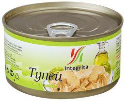 """Рыбные консервы """"Тунец филе в масле"""" Integrita"""