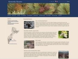 Сайт Кроноцкого заповедника kronoki.ru