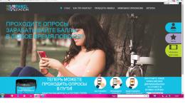 Сайт опросов thepanelstation.com