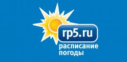Сайт Расписание погоды rp5.ru