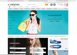 Сайт Zalando.de