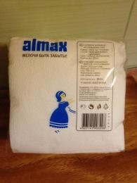 """Салфетки бумажные """"Almax"""" белые"""