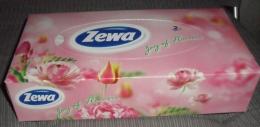 Салфетки бумажные для лица Zewa Joy os flowers неароматизированные