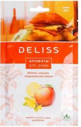 Саше ароматическое для белья Deliss Joy аромат яблока, акации и сицилийского лимона