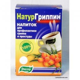 """Напиток для профилактики гриппа и простуды """"НатурГриппин"""" Эвалар"""