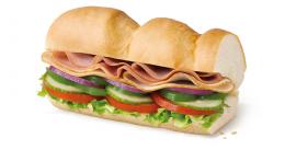 """Сэндвич """"Индейка и Ветчина"""" Subway"""