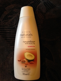 """Шампунь """"Avon"""" Naturals hair care """"Природная мягкость"""" авокадо и миндаль"""
