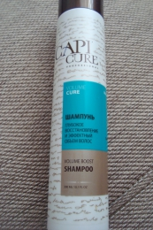 Шампунь Capi Cure Глубокое восстановление и эффектный объем волос