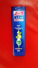 Шампунь Clear Men Antiforfora Sport Экстракты лимона и ментола