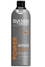 Шампунь для мужчин Syoss Men Power для нормальных волос