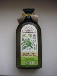 Шампунь для нормальных волос Зеленая аптека Herbal Cosmetics «Крапива двудомная и репейное масло»
