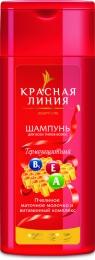 """Шампунь Красная линия """"Термозащитный"""" пчелиное матовое молочко и витаминный комплекс"""