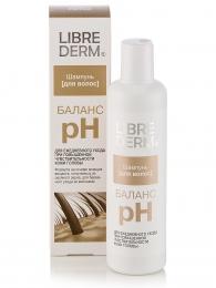 Шампунь Librederm «Баланс рН» Для ежедневного ухода при повышенной чувствительности кожи головы